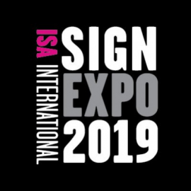 ISA Sign Expo 2019 in Las Vegas !